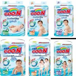 Bỉm dán Goon Slim M66-L56-XL50