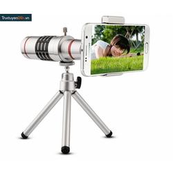 Ống kính lens camera tele zoom 18x cho smart phone.