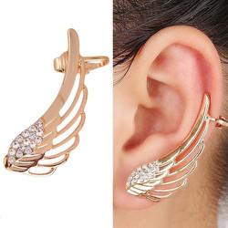 Bông tai kẹp vành cánh thiên thần - 1 chiếc