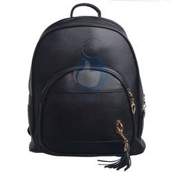 Balo da nữ thời trang hàng đẹp tua dua Verygood MS1 - màu đen
