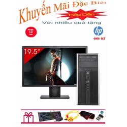 HP 6000 Pro MT Core 2 Quad Q6600, Ram 8GB, SSD 240GB, HDD 1TB