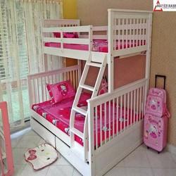 Giường gỗ 2 tầng NH-45128 hai hộckéo