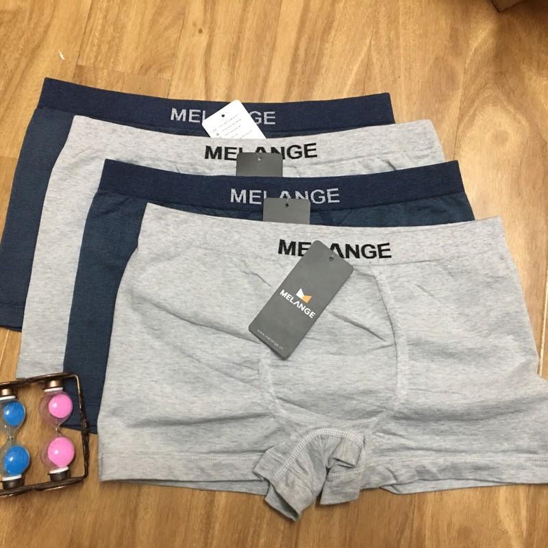 Boxer dệt CVC thương hiệu Melange MC.22.10 - Quần sịp - Quần lót nam 1