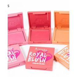 Má hồng kem Rimmel Royal. Blush siêu xinh