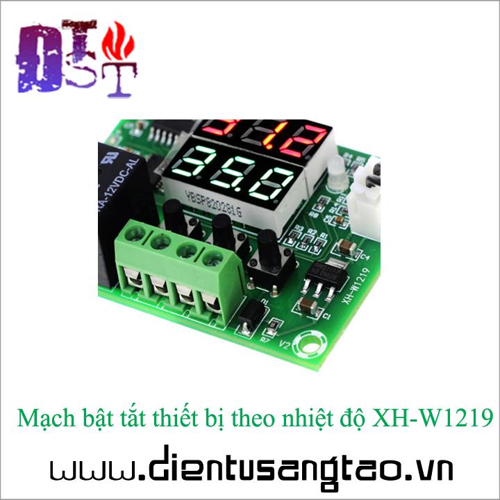 Mạch bật tắt thiết bị theo nhiệt độ XH-W1219 5