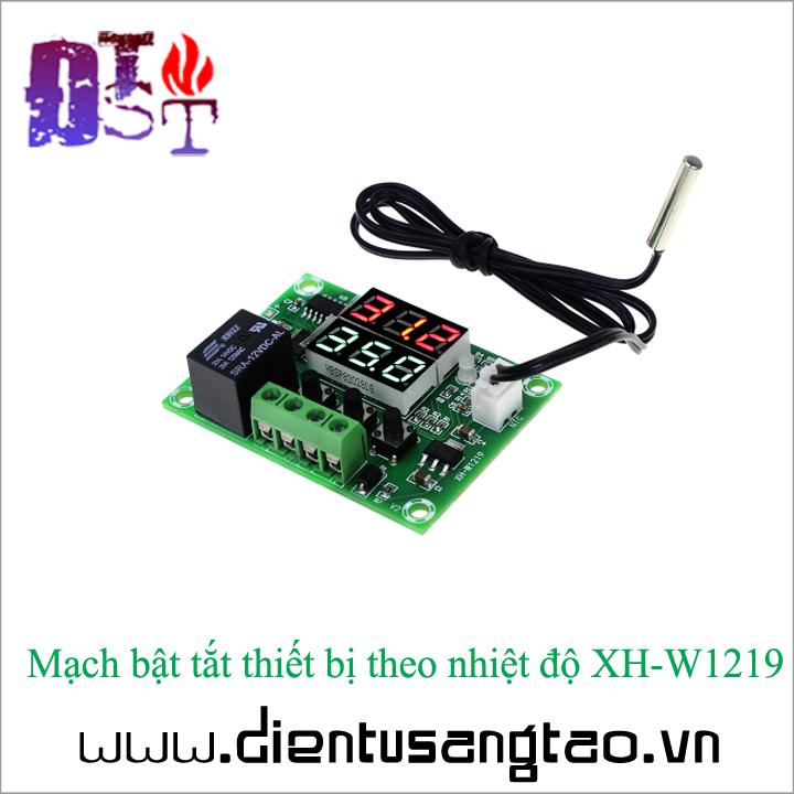Mạch bật tắt thiết bị theo nhiệt độ XH-W1219 3