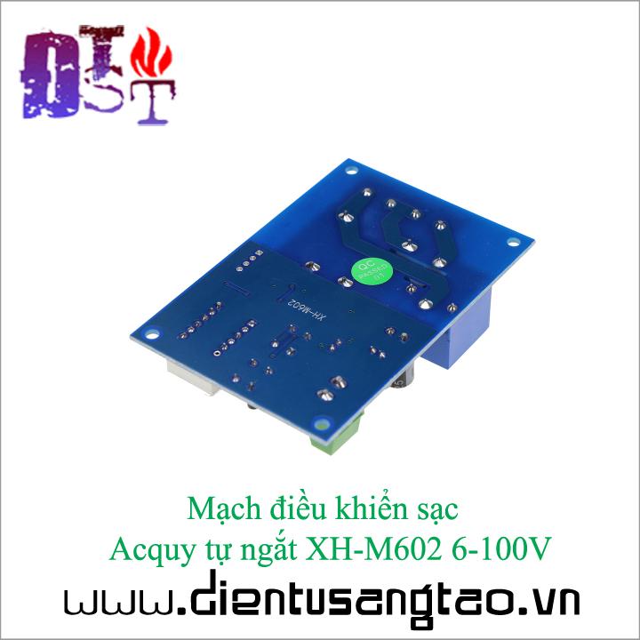 Mạch điều khiển sạc  Acquy tự ngắt XH-M602 6-100V 6