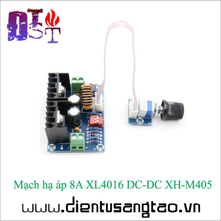 Mạch hạ áp 8A XL4016 DC-DC XH-M405 3