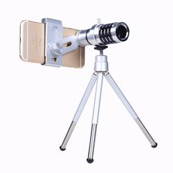 Ống kính lens camera tele zoom 12x cho điện thoại smart phone.