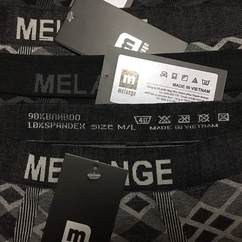 Quần boxer nam Melange MB.22.18 - Quần lót nam - Quần sịp 3