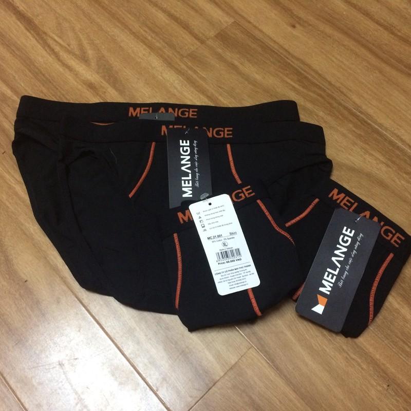 Quần lót cotton nam Melange MC.21.01 - Quần sịp nam- Quần bikini nam 1