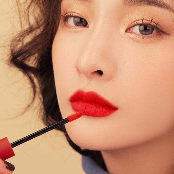 Son Kem Lì 3CE Velvet Lip Tint màu Private - Đỏ Lạnh 7