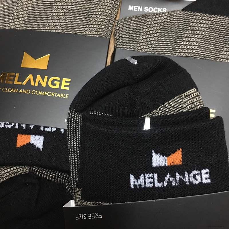 Tất nam cao cấp Melange MC.01.05 - Tất cổ dài  - Tất dài nam 1