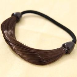 Dây thun cột giả tóc Hàn quốc màu đen - nâu đen