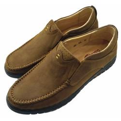 Giày lười nam da thật mềm mại đi ôm chân AD0124V