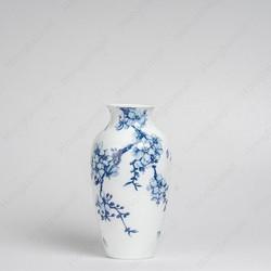 Binh trang trí Hoa Mai Cobalt 27x14.5cm, Sứ Minh Long I