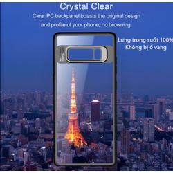 Ốp lưng Galaxy Note 8 Rock Protection Case viền mềm màu