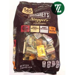 Socola Hershey Nuggets Assortment 145 Pieces 1.47kg