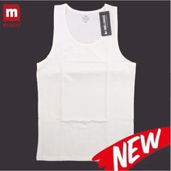 Áo ba lỗ cotton màu trắng MC.41.02 - áo lót nam cotton Melange