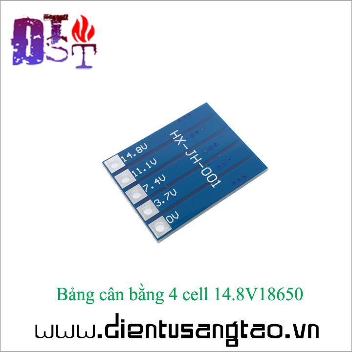 Bảng cân bằng 4 cell 14.8V18650 3