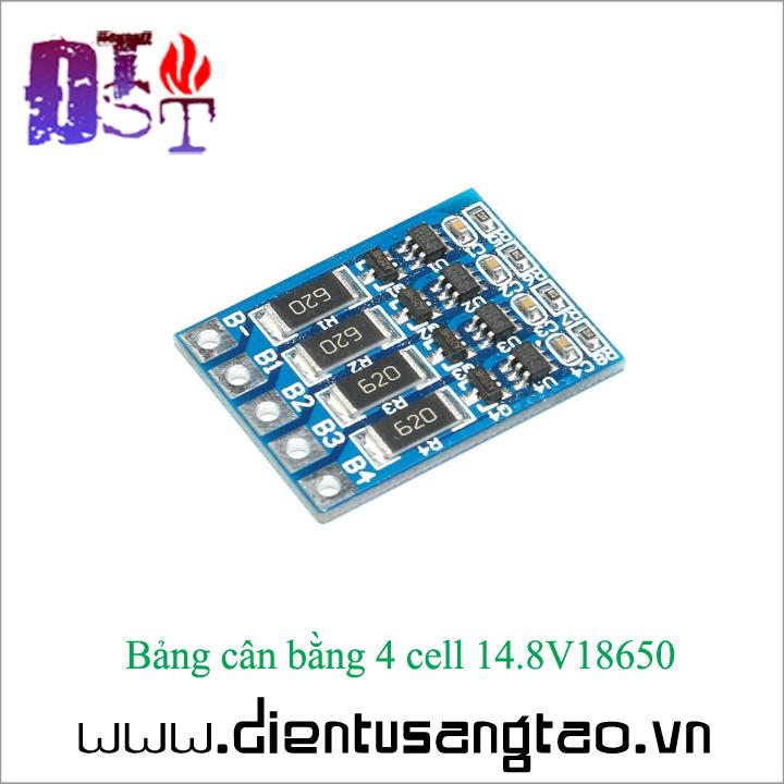 Bảng cân bằng 4 cell 14.8V18650 2