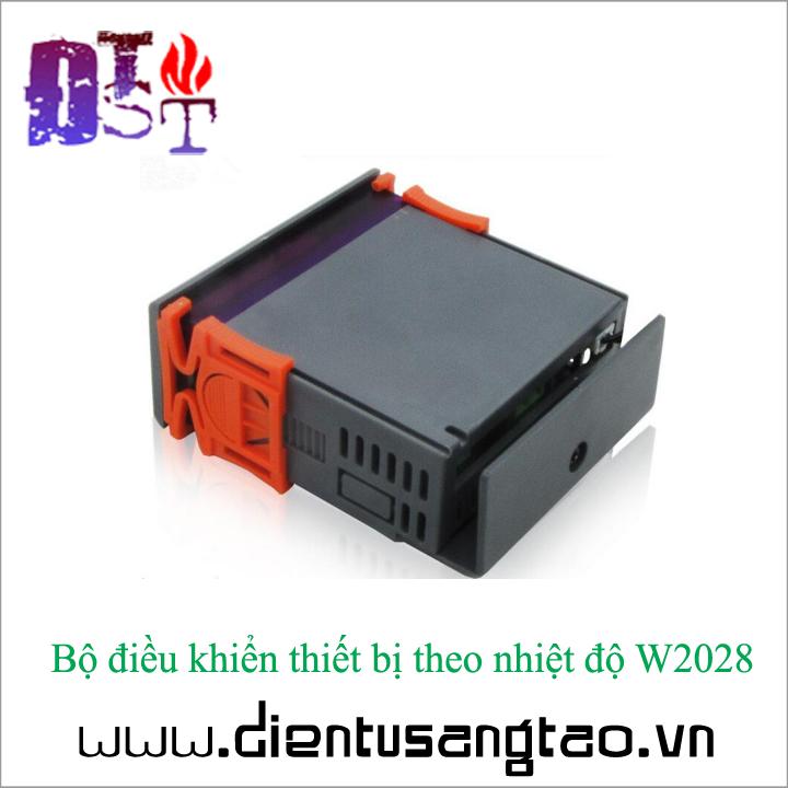 Bộ điều khiển thiết bị theo nhiệt độ W2028 12V 6