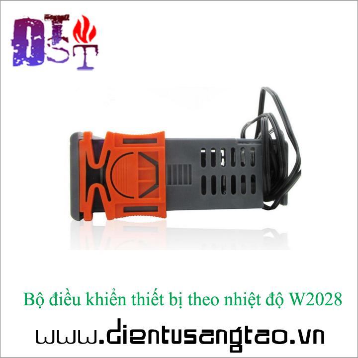 Bộ điều khiển thiết bị theo nhiệt độ W2028 12V 4