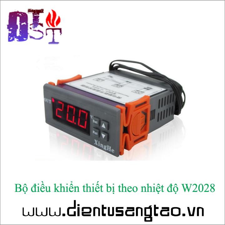 Bộ điều khiển thiết bị theo nhiệt độ W2028 12V 3
