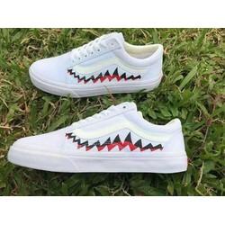 giày vans cá mập
