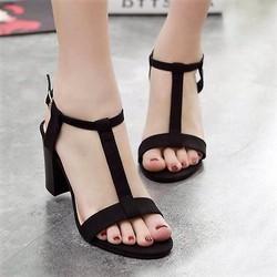 Giày cao gót quai ngang thời trang