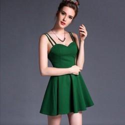 Đầm xòe cúp ngực hai dây sexy DNT138