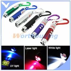 Đèn laser 3 trong 1 soi tiền giả, rọi đường, laser không hại mắt