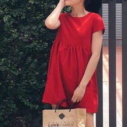 HÀNG MỚI-Đầm babydoll siêu hot đổ bộ mùa noel