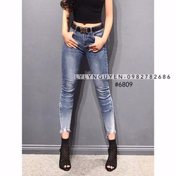 Quần Jean dài rách