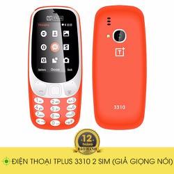 điện thoại 2 sim giá rẻ dưới 500k Tplus 3310
