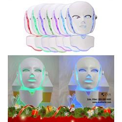 Mặt nạ ánh sáng sinh học điều trị và chăm sóc da 7 màu 3D