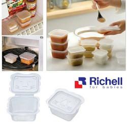 Hộp đựng thức ăn dặm cho bé richell Nhật 6-10 hộp