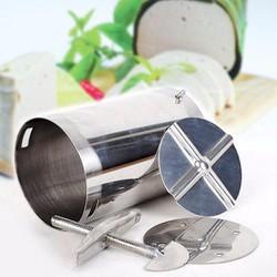 Khuôn làm giò inox 1 kg - KHUÔN LÀM GIÒ CHẢ