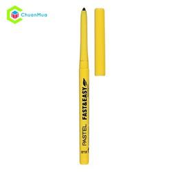 Chì vẽ mắt PASTEL Fastel - Easy Waterproof Eye Pencil #50 Black MPA448