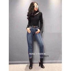 Jean nữ thời trang, kiểu mới phong cách sành điệu