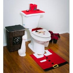 Áo Trùm toilet hình ông già Noel