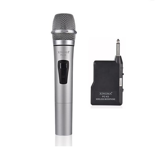 Micro Karaoke Không Dây cho Âm Li Loa Kẹo kéo Nhập Khẩu Hiệu XINGMA k3  PF128