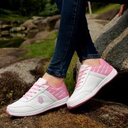 Giày sneaker nữ kiểu dáng mới lạ , gam màu dễ dàng phối đồ 502