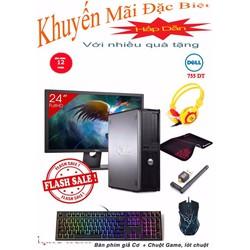 Dell Optiplex 755 DT Core 2 Quad Q6600, Ram 4GB, HDD 320GB