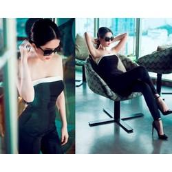 Jumpsuit Ngọc Trinh thiết kế cúp ngực quần ôm