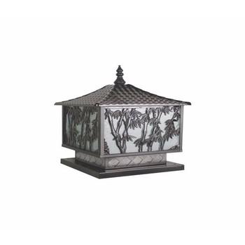 đèn trang trí trụ cổng Ø300 H390 - NVT107-300
