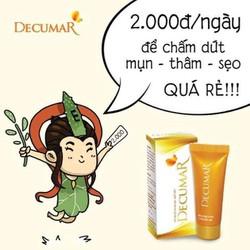 Kem trị mụn decumar trị sạch mụn hiệu quả alothuoc.com