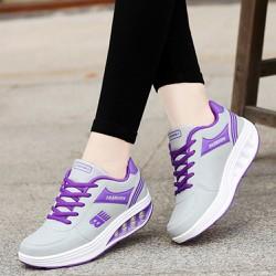 Giày sneaker nữ tăng chiều cao, chất liệu cao cấp 507