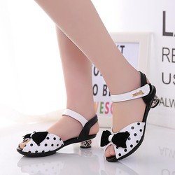 giày sandal cao gót cho bé gái