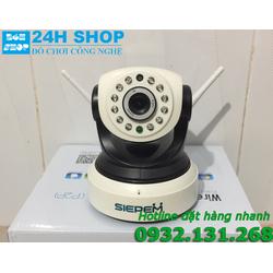 CAMERA IP WIFI SIEPEM S6203Y WR Pro CHẤT LƯỢNG 720P, XOAY 355 ĐỘ